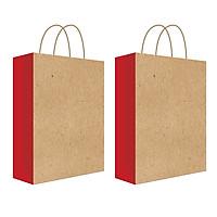 Túi đựng quà, túi giấy Kraft T14 - 27x36x9.5cm (422)