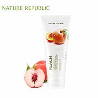 Sữa rửa mặt Đào NATURE REPUBLIC Fresh Herb Peach Cleansing Foam 170ml