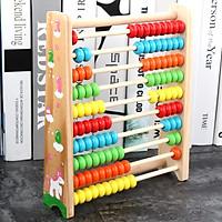 Đồ chơi bảng tính bằng Gỗ cho bé
