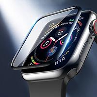 Miếng dán cường lực Hoco Full 3D cho Apple Watch Series 6 / Apple Watch SE/ Series 5/ 4 (Size 40/44mm) - Hàng Nhập Khẩu