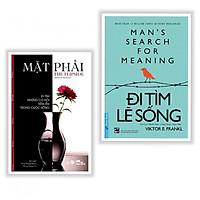 Combo sách hay về mục đích sống : Mặt phải - đi tìm những cơ hội trong cuộc sống + Đi tìm lẽ sống - Tặng kèm bookmark thiết kế
