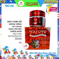 KEM HOLY CARE ĐỎ - WHITENING DAY AND CREAM SKIN CARE CREAM - DƯỠNG TRẮNG TÁI TẠO DA 5 TÁC DỤNG 20G