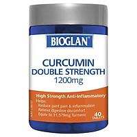 Bioglan Curcumin Double Strength 1200mg 40 Tablets