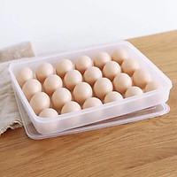 bộ 2 khay đựng trứng 24 quả Song Long- tặng kèm 2 đĩa phíp hình chiếc lá xinh xắn