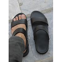 Sandal Nam- Dép Sandal Nam Da Bò- Mã DE02