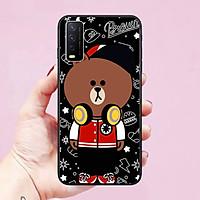Ốp lưng dành cho điện thoại Vivo Y12S/Y20/Y20S/Y21S hình Chú Gấu Cute