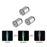 1-Pack Of 3-Color Changing Faucet Tap Led Faucet Tap / Water Stream Tap