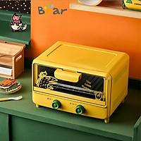 Lò nướng điện gia đình Bear nướng bánh nhỏ đa năng tự động nướng bánh trái cây sấy khô mini DKX-C10Z1
