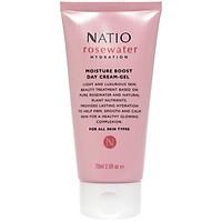 Gel Kem Cấp Ẩm Da Ban Ngày Natio Rosewater Hydration Moisture Boost Day Cream-Gel 75ml