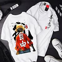 Áo thun One Piece Luffy Mũ Rơm T13 mẫu mới cực đẹp, có size bé cho trẻ em / áo thun Anime Manga Unisex Nam Nữ, áo phông thiết kế cổ tròn basic cộc tay thoáng mát