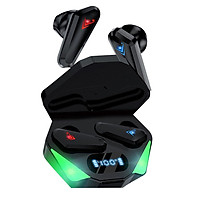 BT 5.0 Earbuds with Charging Case LED Display Dual Master Earbuds AAC SBC Dual Decoding Technology Auto Connection,