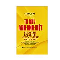 Từ điển Oxford Anh Anh Việt bìa vàng( tặng kèm hộp Flashcard 360 động  từ bất quy tắc Tiếng Anh từ A-Z )