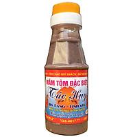 Mắm tôm Ba làng Tác Huy chai 120ml thích hợp sử dụng trong gia đình