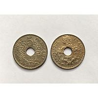 Đồng Xu Cổ Xưa Đông Dương Việt Nam 5 Cents Indochine Năm 1930s [Sưu Tầm Xu Phong Thủy]