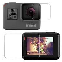 Kính cường lực GoPro Hero 5 6 Black Camera trước và sau - KingMa hãng phân phối chính thức