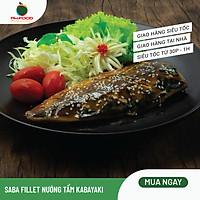 [Chỉ giao HN] - Cá Saba Fillet Nướng Tẩm Kabayaki Sốt Vừng - Ăn Liền