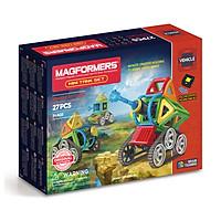 Đồ chơi xếp hình nam châm 3D Magformers - Xe tăng nhỏ 27 mảnh