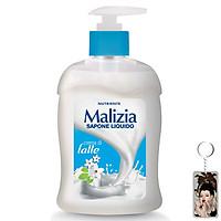 Nước rửa tay Malizia Cream Milk 300ml tặng kèm móc khóa