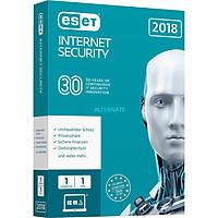 Phần mềm diệt virut Eset Internet Security ESET-EIS-IUIY - Bản Quyền 1 User 1 Year - Hàng nhập khẩu