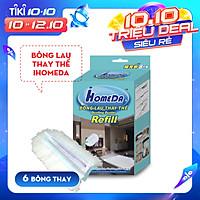 Bông lau thay thế cho chổi quét bụi iHomeda ( 1 hộp/ 6 bông lau) - iHomeDa Refill's iHomeda duster ( 1 box/ 6 refill )