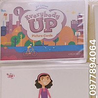 FLASHCARD EVERYBODY UP 1  ép plastics️giáo cụ đồ dùng dạy học hiệu quả cho giáo viên ️ Flashcards Tiếng Anh
