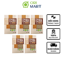 Combo 3 Gạo Hữu Cơ Ecoba Kim Mễ - Ecoba Organic Brown Rice 1kg