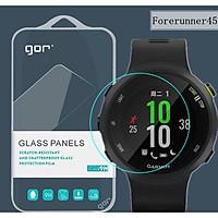 Bộ 3 kính cường lực cho đồng hồ Garmin Forerunner 45/45S chính hãng Gor