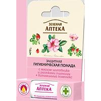 Son dưỡng môi Zelenaya Apteka tinh dầu tầm xuân & mầm lúa mì giúp căng mọng, mềm mịn 3,6 gram