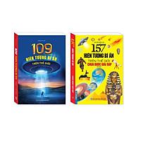 Sách - 109 hiện tượng bí ẩn trên thế giới (bìa mềm) + 157 hiện tượng bí ẩn trên thế giới chưa được giải đáp (bìa mềm)