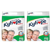 Bộ 2 Gói Tã Người Lớn Kyhope Safeguard Size L (10 Miếng)