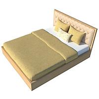 Giường ngủ cao cấp phong cách Hàn Quốc - Thương hiệu alala.vn (1m8x2m)