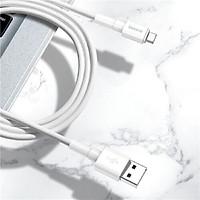 Cáp sạc nhanh, siêu bền Baseus Mini White dùng cho Smartphone/ Tablet (Type C/ Lightning/ Micro, Quick Charging & Sync Data TPE Cable) - Hàng chính hãng