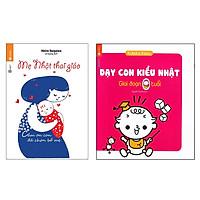 Combo Sách Làm Cha Mẹ - Mẹ Nhật Thai Giáo và Dạy Con Kiểu Nhật – Giai Đoạn Trẻ 0 Tuổi