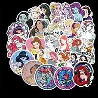 Sticker 100 miếng hình dán Princess - hàng nhập khẩu