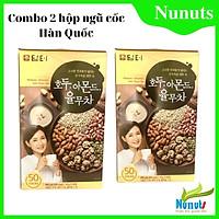 (SIÊU TIẾT KIỆM) Combo bột ngũ cốc Hàn Quốc  Damtuh hộp 900g (1 hộp 50 gói, mỗi gói 18g) thơm ngon, b6ổ dưỡng Nunuts.