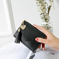 Ví nữ    Ví cầm tay nữ mini cao cấp ngắn cute nhỏ gọn bỏ túi thời trang giá rẻ V091111