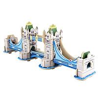 Đồ chơi lắp ráp gỗ 3D Mô hình London Bridge MJ401