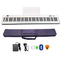 Đàn Piano Điện Bora BX-II (Trắng) - 88 Phím nặng Cảm ứng lực BX2 Midi Keyboard Controllers BX02 - Kèm Móng Gẩy DreamMaker