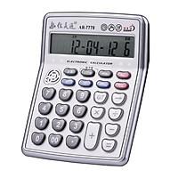 Máy tính để bàn 12 chữ số, Màn hình LCD điện tử, Các nút lớn dễ dàng thao tác