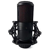 Condenser Recording Microphone Round Multi-function Microphone with Shock mounts