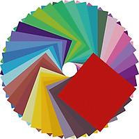Giấy Thủ Công Origami, 20 Tờ 5 Màu Size A4, Giấy Xếp Cò - Size A4