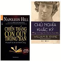 Combo 2 Cuốn Sách Kĩ Năng Sống: Chiến Thắng Con Quỷ Trong Bạn + Chủ Nghĩa Khắc Kỷ - Phong Cách Sống Bản Lĩnh Và Bình Thản