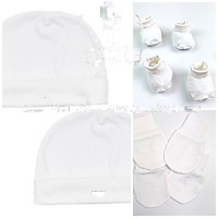 Set 2 mũ, bao tay, bao chân N.ous dành cho bé sơ sinh
