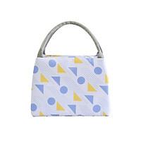 Túi đựng hộp cơm giữ nhiệt cao cấp Lunch Bag bản ngang+ Tặng kèm 01 sổ tay nhỏ