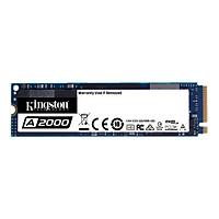 Ổ cứng SSD Kingston A2000M8 250GB NVMe M.2 2280 PCIe Gen 3 x 4 (Doc 2000MB/s, Ghi 1000MB/s) -SA2000M8/250G - hàng chính hãng