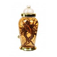 Bình thủy tinh ngâm rượu sâm Hàn 10,5 lít có vòi