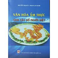 Sách Văn hóa ẩm thực qua câu đố người Việt