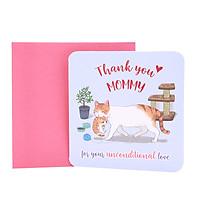 Thiệp tặng mẹ Thank you Mom
