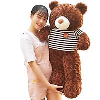 Gấu Bông Teddy 1m2 khổ vải cao 1m Ngộ Nghĩnh Cao Cấp