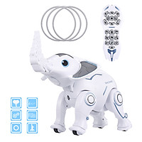 K17 Wireless Elephant Robot RC Robot Bionic Actions Program Sing Dance Tell Story Interactive Toy for Boys Girls